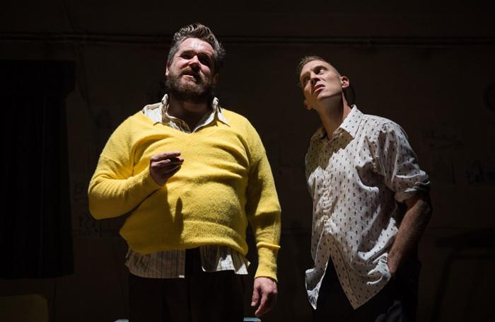 Grant O'Rourke and Simon Donaldson in Ballyturk at Tron Theatre, Glasgow. Photo: John Johnston