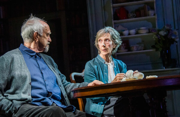 Jonathan Pryce and Eileen Atkins in The Height of the Storm at Wyndham's Theatre – review round-up