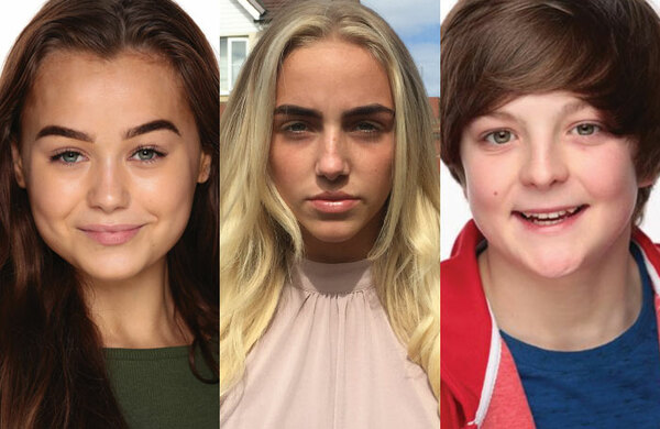The Stage/Pauline Quirke Academy Studios Scholarship winners 2018