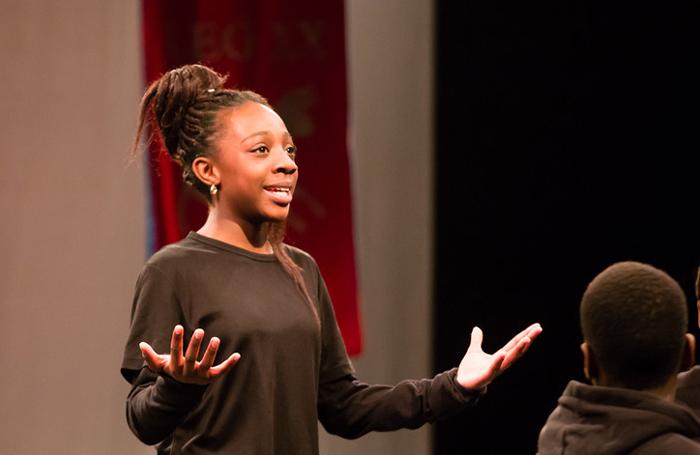 Royal Shakespeare Company's Next Generation scheme. Photo: Rob Freeman