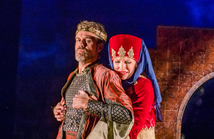 Grant Doyle and Ellie Laugharne in Radamisto at Hackney Empire. Photo: Tristram Kenton