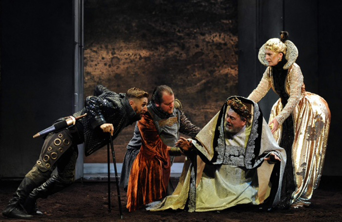 The cast of Richard III at Abbey Theatre, Dublin