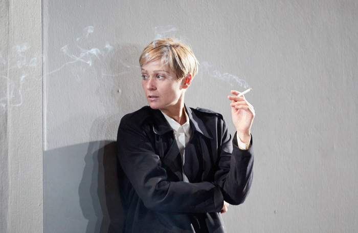Sian Brooke in I'm Not Running at National Theatre, London. Photo: Mark Douet