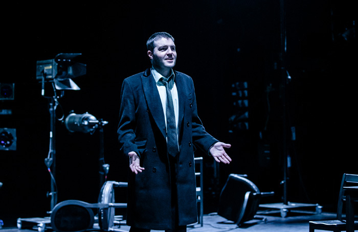 Tom Burke in Don Carlos at Exeter Northcott Theatre. Photo: The Other Richard