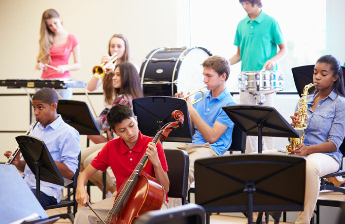 Almost a fifth of schools surveyed by the University of Sussex failed to offer GCSE music. Photo: Shutterstock