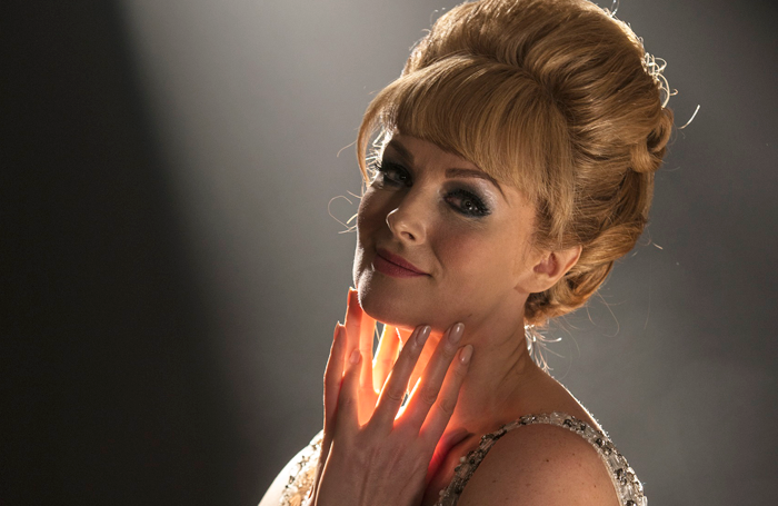 Katherine Kingsley as Dusty Springfield. Photo: Dominic Nicholls