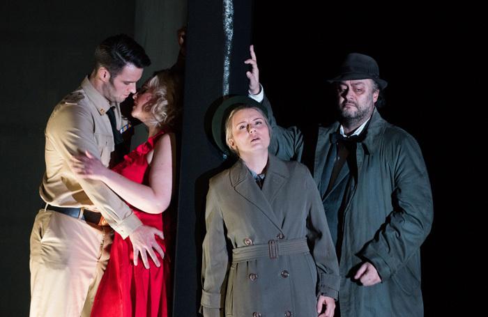 The cast of Scottish Opera's Rigoletto. Photo: Julie Howden
