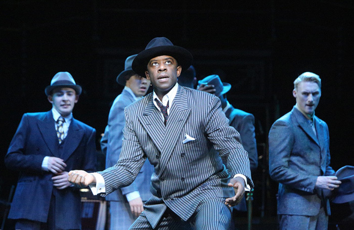 Adrian Lester in Guys and Dolls at Royal Albert Hall, London. Photo: Roy Tan