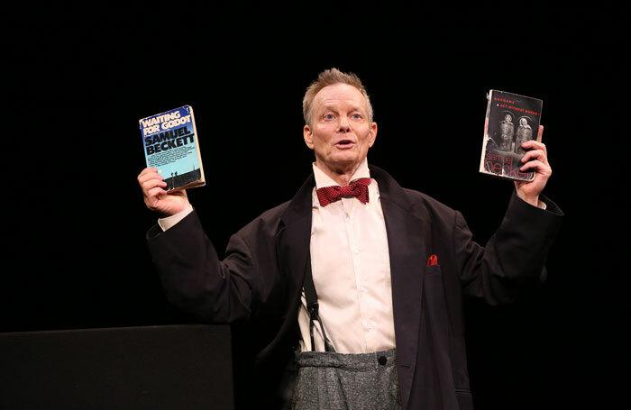 Bill Irwin in On Beckett at the Irish Repertory Theatre, New York. Photo: Carol Rosegg