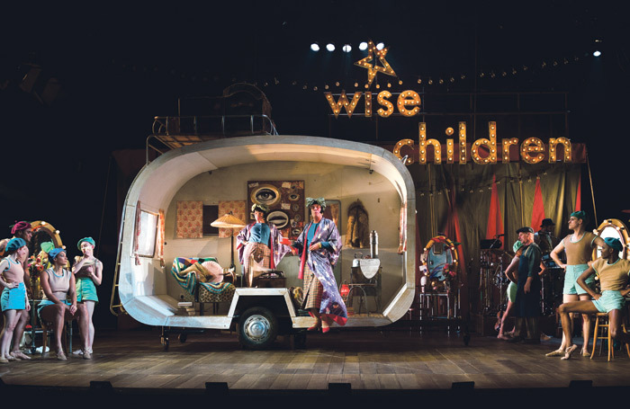 The cast of Wise Children. Photo: Steve Tanner