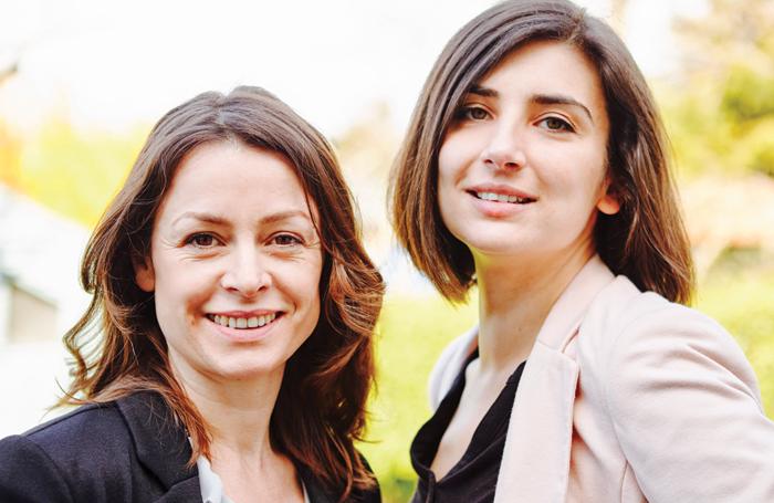 Cassie Raine and Anna Ehnold-Danailov. Photo: Jose Mosquera