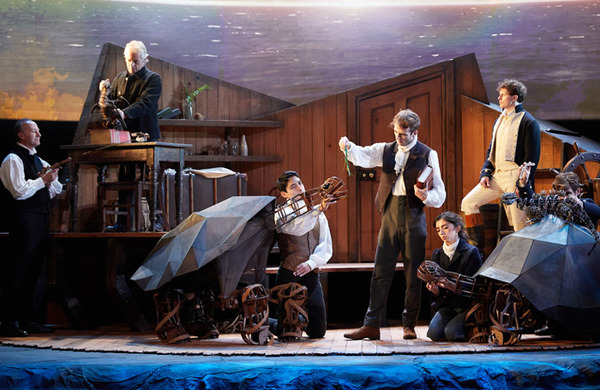 Trish Wadley: Staging a play in the Natural History Museum brings theatre's chaos to a quiet museum