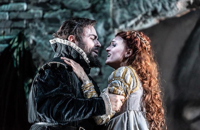 Alessandro Luciano and Ekaterina Bakanova in Il Bravo at National Opera House, Wexford. Photo: Clive Barda