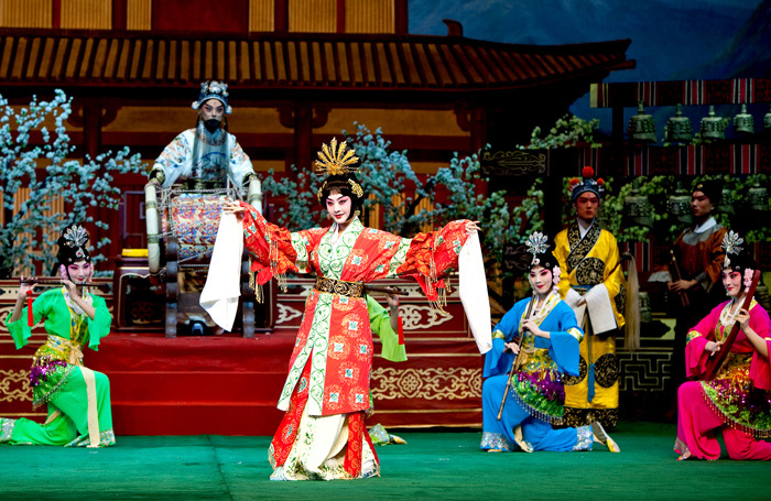 Scene from The Emperor and the Concubine at Sadler's Wells, London
