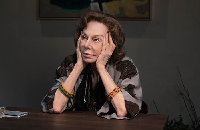 Elaine May in The Waverly Gallery at Golden Theatre, New York. Photo: Brigitte Lacombe