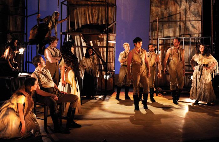 Fridthjofur Thorsteinsson's lighting for Impact Opera's Carmen. Photo: Mike Eddowes