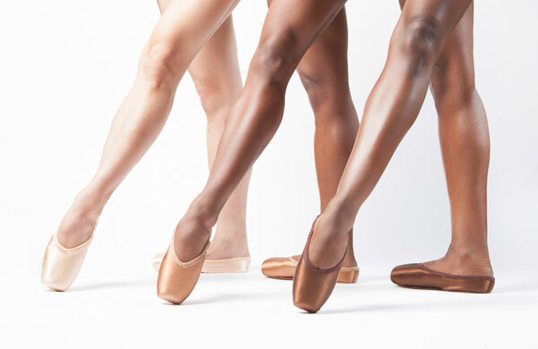 Ballet Black and Freed team up for 'historic' range of pointe shoes for non-white dancers