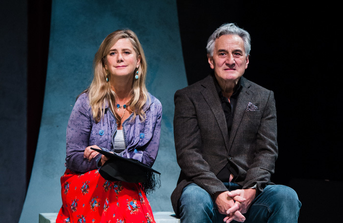 Imogen Stubbs and Henry goodman in Honour at the Park Theatre, London. Photo: Alex Brenner