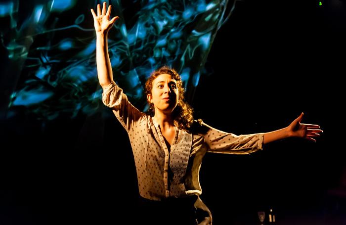 Lilac Yosiphon in Jericho's Rose at Hope Theatre, London. Photo: Lidia Crisafulli
