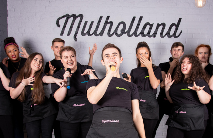 The Mulholland cast/staff. Photo: Tyra Leeming