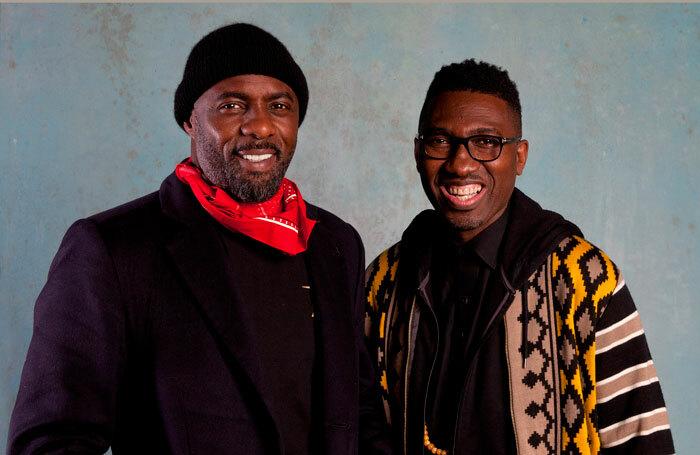 Idris Elba and Kwame Kwei-Armah. Photo: David Sandison