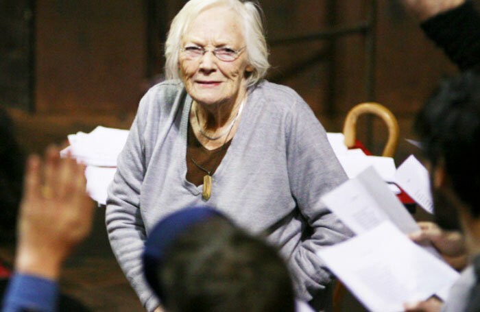 Cicely Berry has died aged 92. Photo: RSC