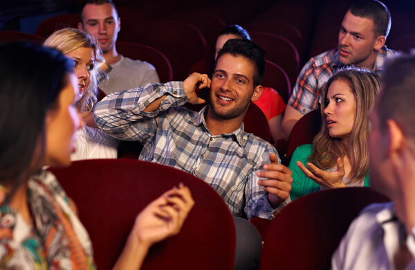 Audience etiquette: what is acceptable behaviour in a theatre?
