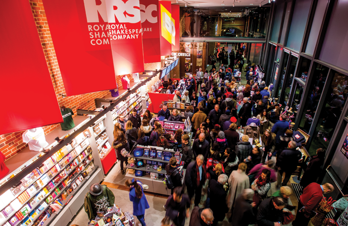 Audiences at the  Royal Shakespeare Company, one of the organisations involved in the £80 million Creative Industries Cluster Programme