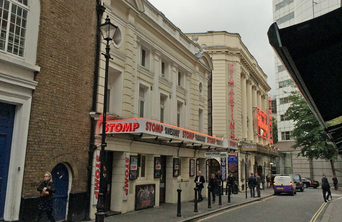 Stomp! was at the Ambassadors Theatre for 10 years