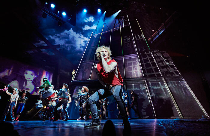Bat Out of Hell at London's Dominion Theatre. Photo: Specular