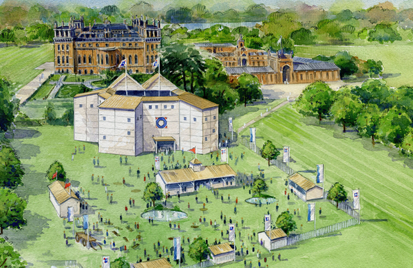 Pop-up Shakespeare theatre launches second venue at Blenheim Palace