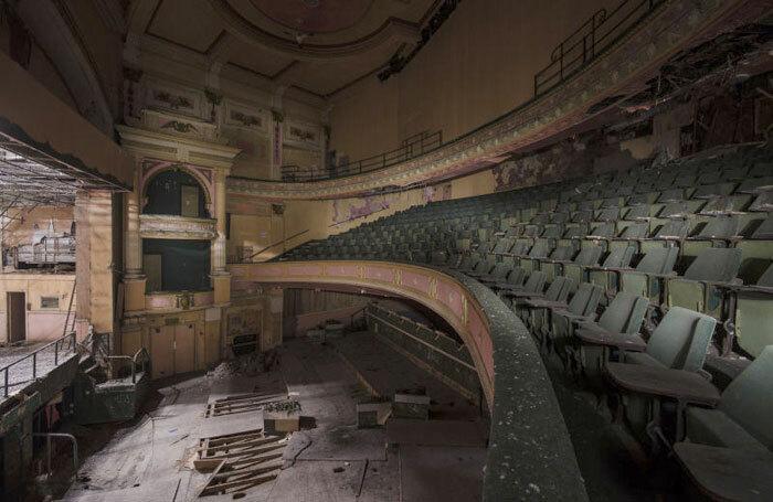 Interior of the Empire Theatre in Burnley