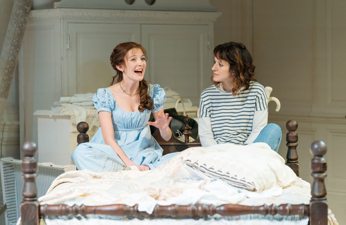 Grace Molony and Louise Ford in The Watsons at Minerva Theatre, Chichester. Photo: Manuel Harlan