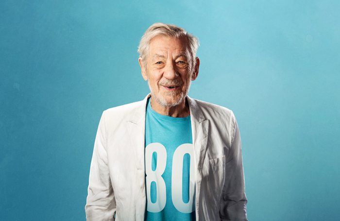 Ian McKellen's latest show is touring to 80 theatres across the UK. Photo: Oliver Rosser/Feast Creative