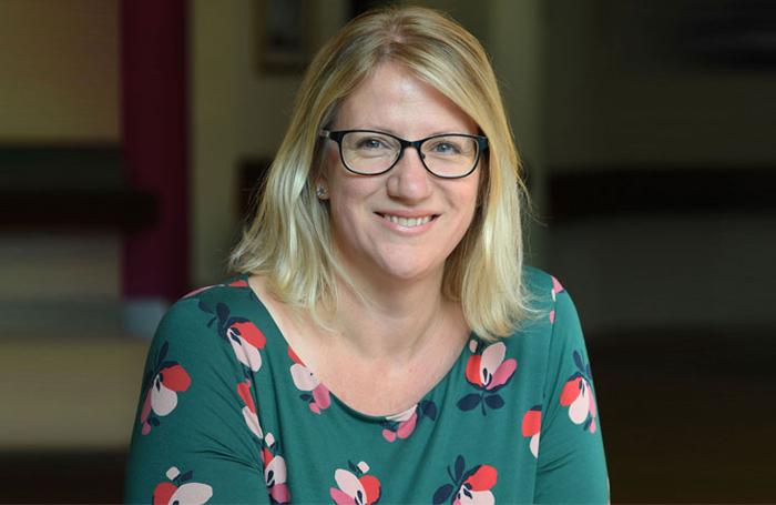 Jo Gordon chief executive of Northamptonshire Arts Management Trust