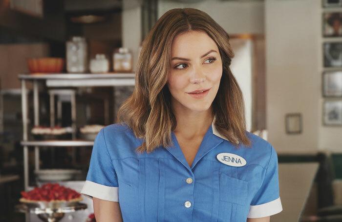 Katharine McPhee will lead the UK cast of Waitress.