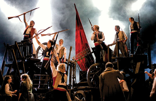 Les Miserables announces further dates for UK and Ireland tour