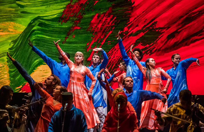 A scene from Layla and Majnun at Sadler's Wells, London. Photo: Tristram Kenton
