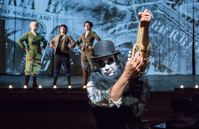 Martyn Jacques in The Last Days of Mankind at Leith Theatre