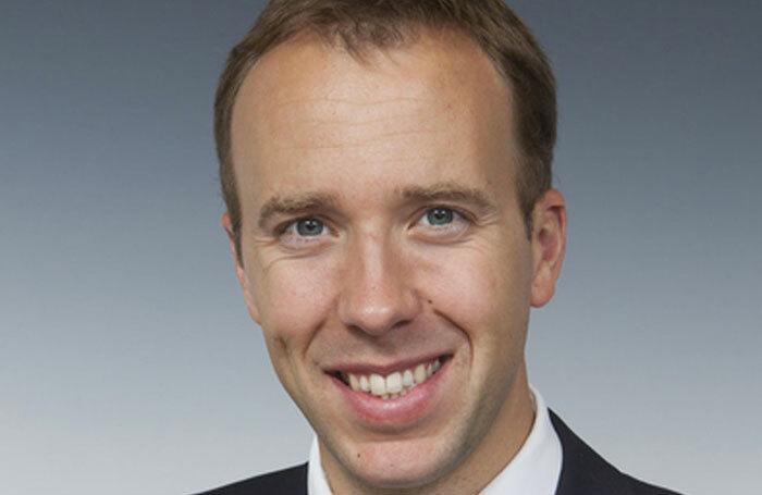 Health secretary Matt Hancock. Photo: UK government