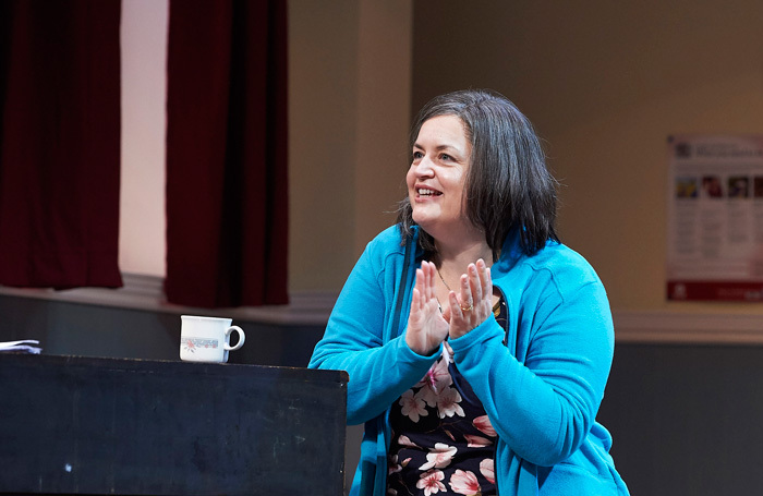 Ruth Jones in The Nightingales at Theatre Royal Bath. Photo: Geraint Lewis