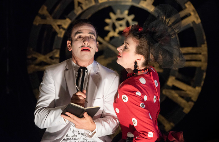 Scene from Mid Wales Opera's A Spanish Hour. Photo:  Matthew Williams Ellis