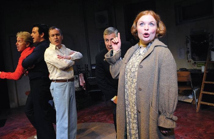 Victoria Wood's Talent at the Menier Chocolate Factory in 2009. The play centres around two friends, one of whom enters a talent contest. Photo: Tristram Kenton