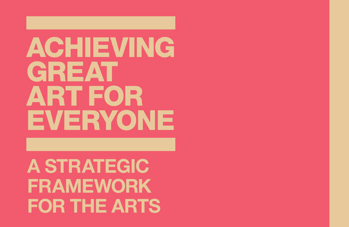 Arts Council England's 10-year strategy, published in 2010