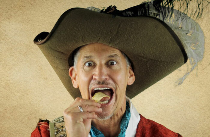 Gary Lineker will play Captain Flint in the show.