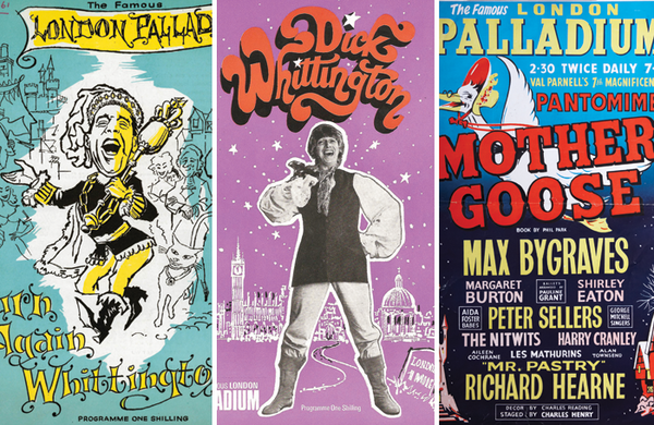 Panto at the Palladium: Dicks, dames and queens at London's home of pantomime