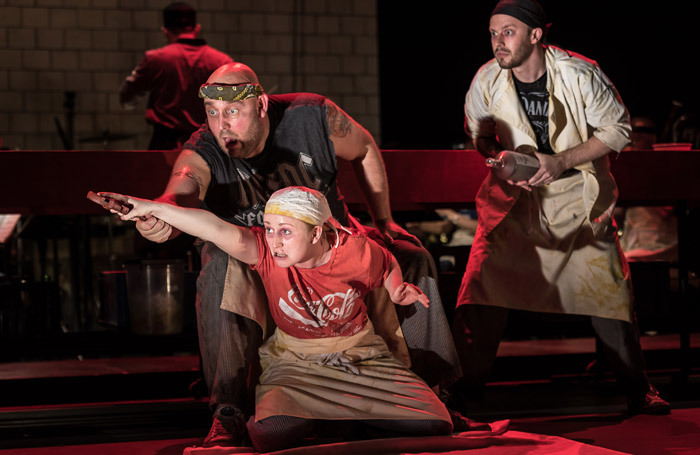 "Music Theatre Wales' The Golden Dragon, which was nominated in 3 categories for the 2018 awards, was accused of ""yellowface casting"". Photo: Clive Barda"