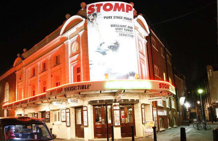 Ambassadors Theatre. Photo: Shutterstock