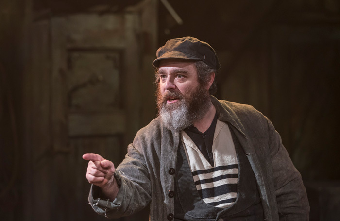 Andy Nyman in Fiddler on the Roof at Menier Chocolate Factory. Photo: Johan Persson