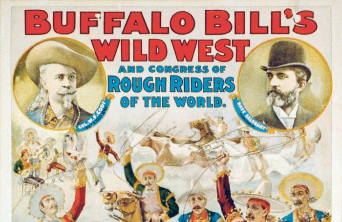 Buffallo Bill's Wild West poster